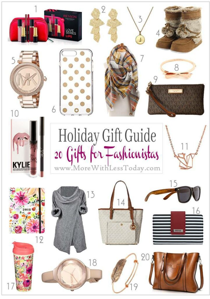 Do you have a fashion lover on your gift list? See our Fashionista Gifts: Holiday Gift Guide 20 Gifts for Fashion Lovers for some great options.