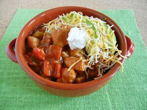 Chicken Fajita Chili