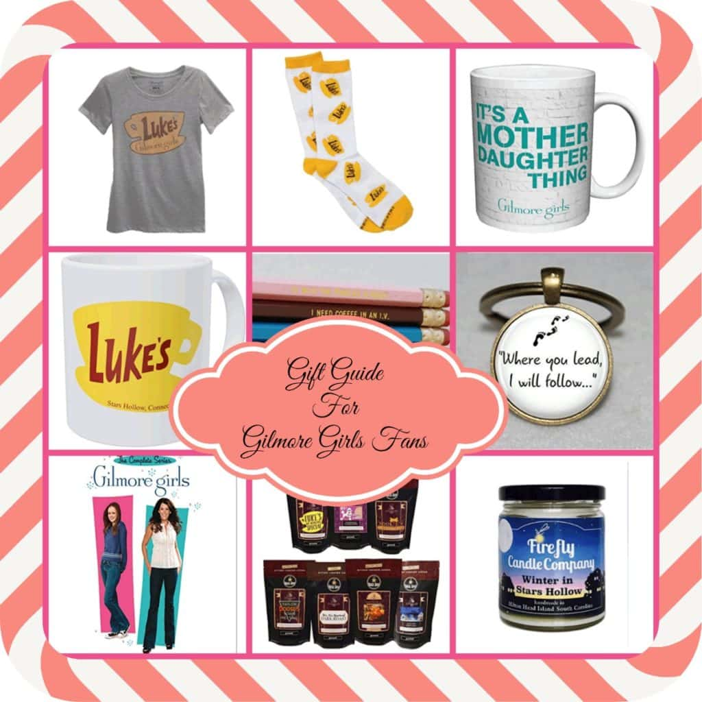 Do you have a Gilmore Girls fan on your gift list? I do! So I put together a roundup of Gilmore Girls Gifts to share with everyone.