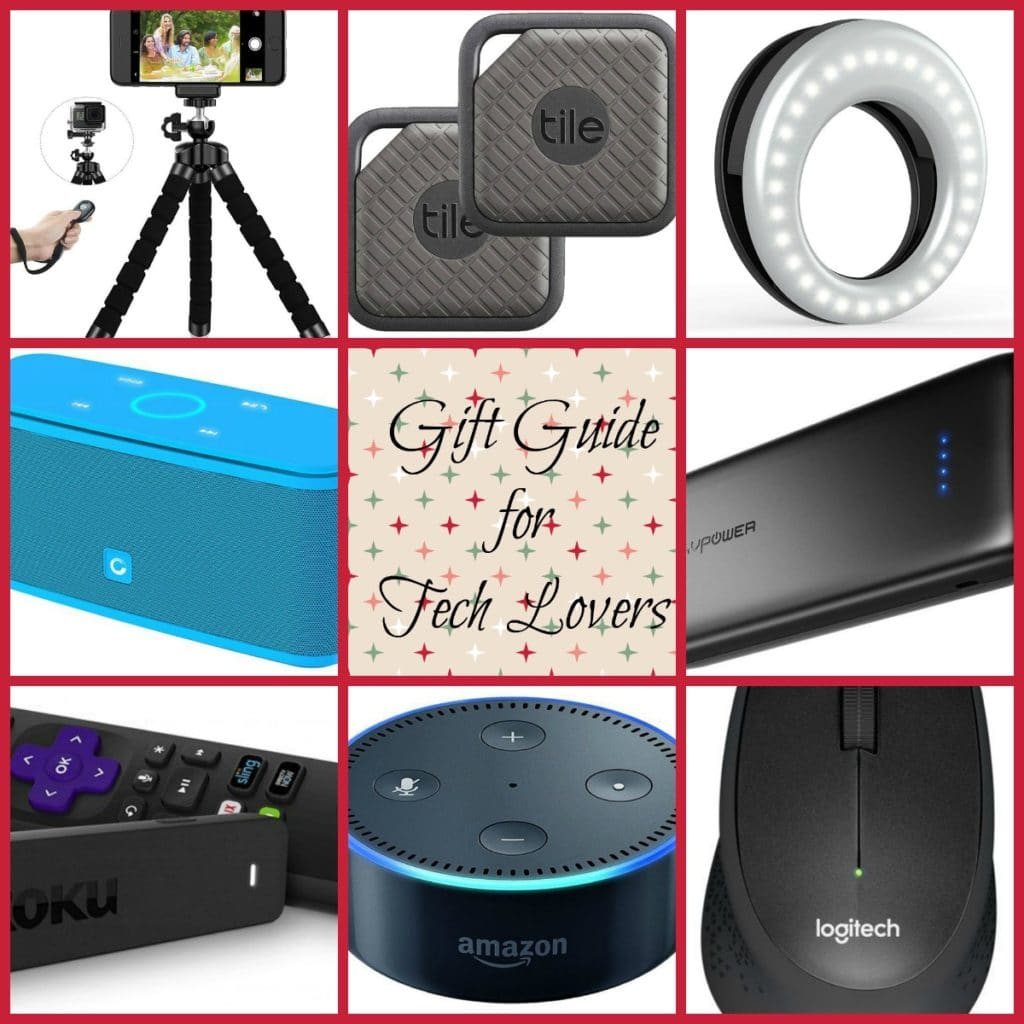 Here is a Gift Guide for the Tech Lover - Most Popular Gifts in Tech if you have a tech fan on your gift list. This tech gift guide is for all ages!