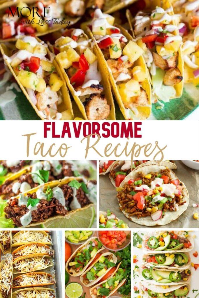 Recipes for Taco Tuesday - photos of easy Taco Recipes