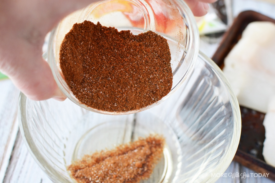 adding cumin to fish taco recipe