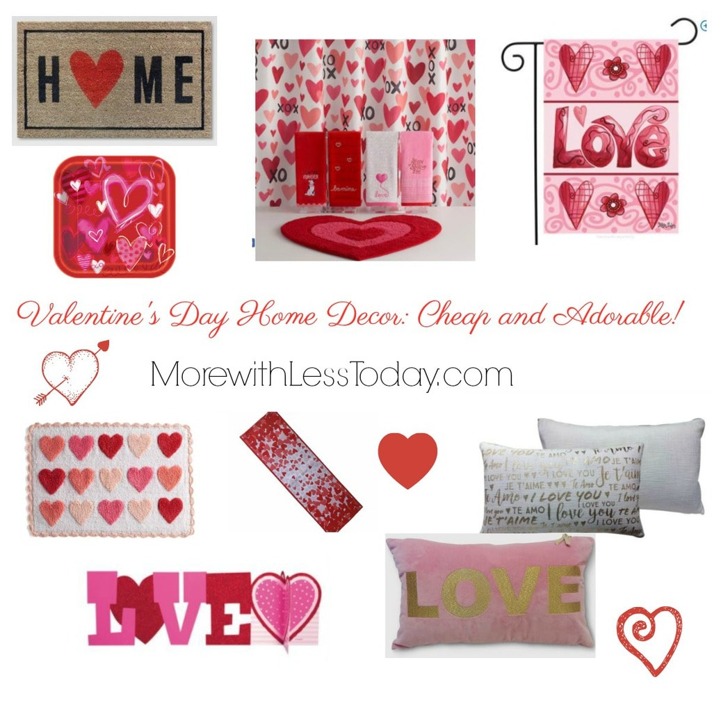 Valentine's Day Home Decor: Cheap And Adorable! From