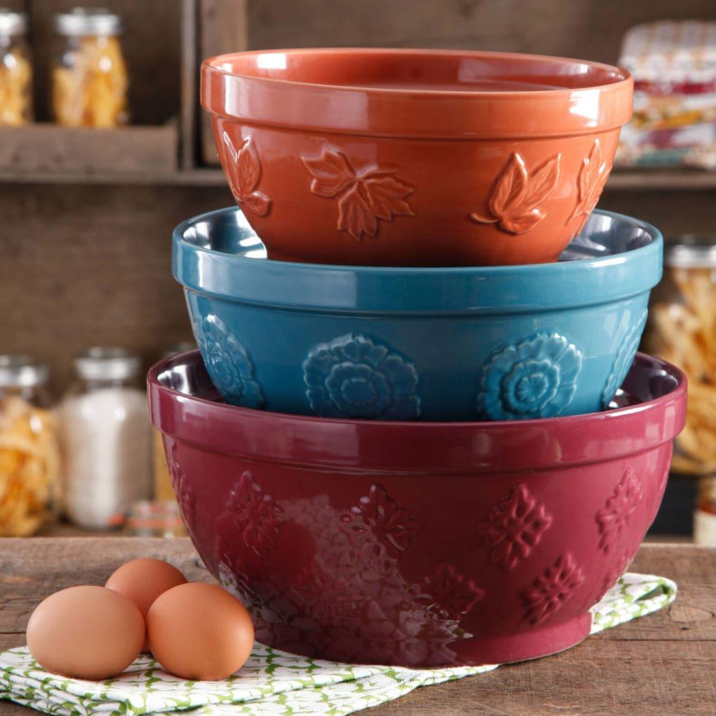 3-Piece Cornucopia Mixing Bowls Pioneer Woman at Walmart