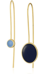 Dear Drew Nolita Mismatch Enamel Drop Earrings
