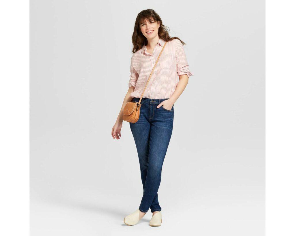 Target plus size jeans