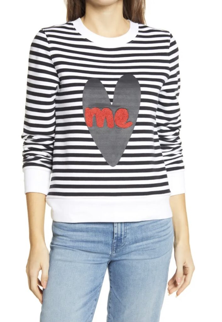 Heart Me Graphic Sweatshirt - HALOGEN®