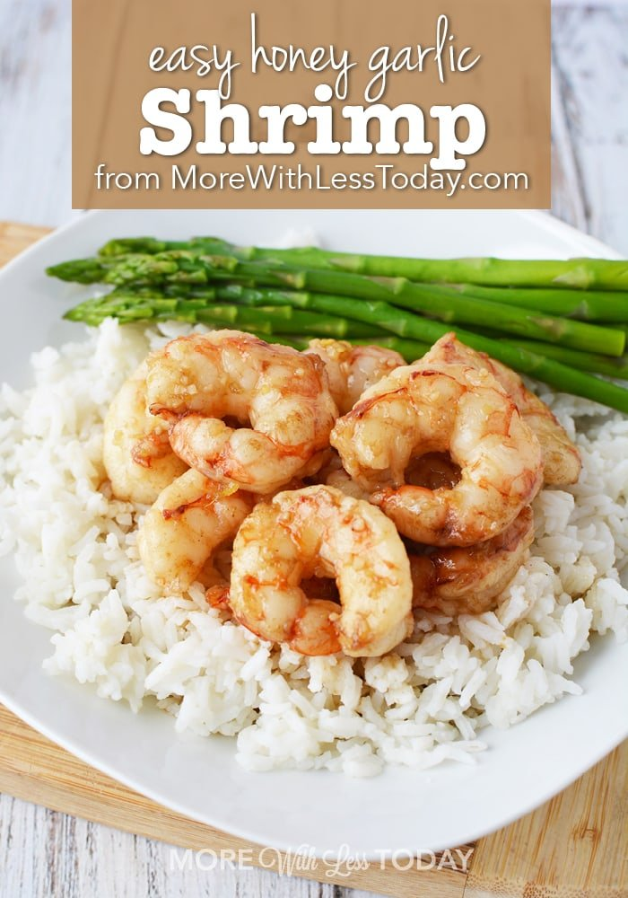 Honey Garlic Shrimp Recipe photo