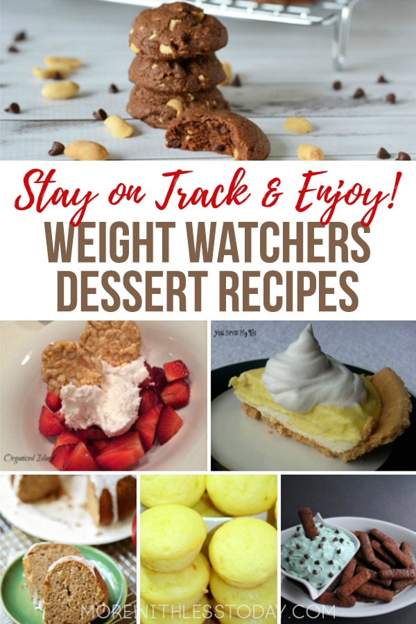 There's no need to make two different desserts, we have Weight Watchers friendly dessert recipes that everyone can enjoy.