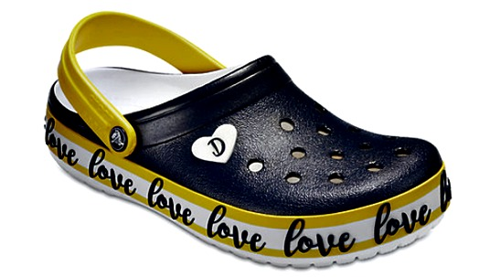 crocs designed by Drew Barrymore