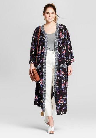 Target plus size kimono