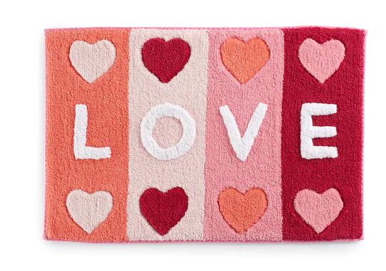 Love Bath Rug from Kohls.com