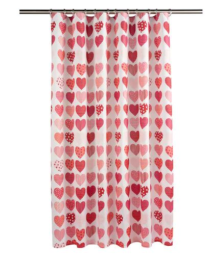 Celebrate Together Hearts Shower Curtain from Kohls.com