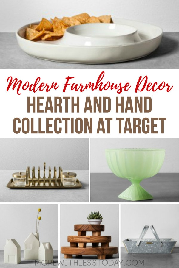 "Favorites from the Hearth & Hand™ with Magnolia Collection at Target. I love everything about Hearth & Hand™ with Magnolia Collection at Target. The designs are simple and clean and say, ""come in and sit awhile!"" If you like Modern Farmhouse decor, I think you will love this collection too. [affiliate] #modernfarmhouse #homedecor #farmhouse"