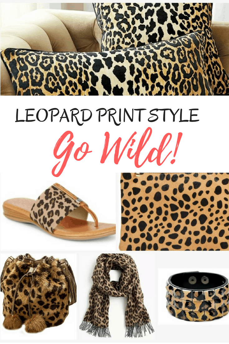 Leopard Print Fashion And Decor Animal Print Never Goes