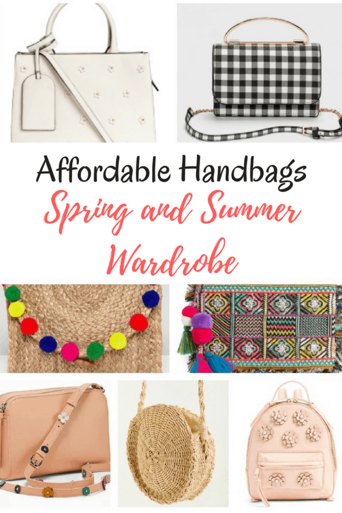 If you are ready to put away that heavy winter purse, these are our favorite affordable handbags for spring and summer. At the time of posting, the most expensive bag was $65.00 before any promo codes or sales and several are under $30.00.[commissionlink] #purses #handbags #itbags #style