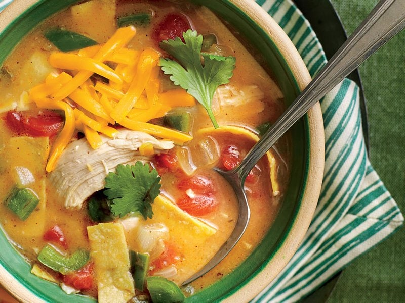 King Ranch Chicken Soup - MyRecipes