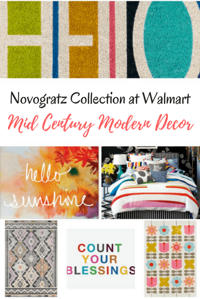 The Novogratz Collection at Walmart - 9 by Novogratz is Bright and Fun! Have you seen the Novogratz collection at Walmart? If you love modern, bright stylish decor, you need to check it out! [commissionlink}#Novogratz #Walmart #decor