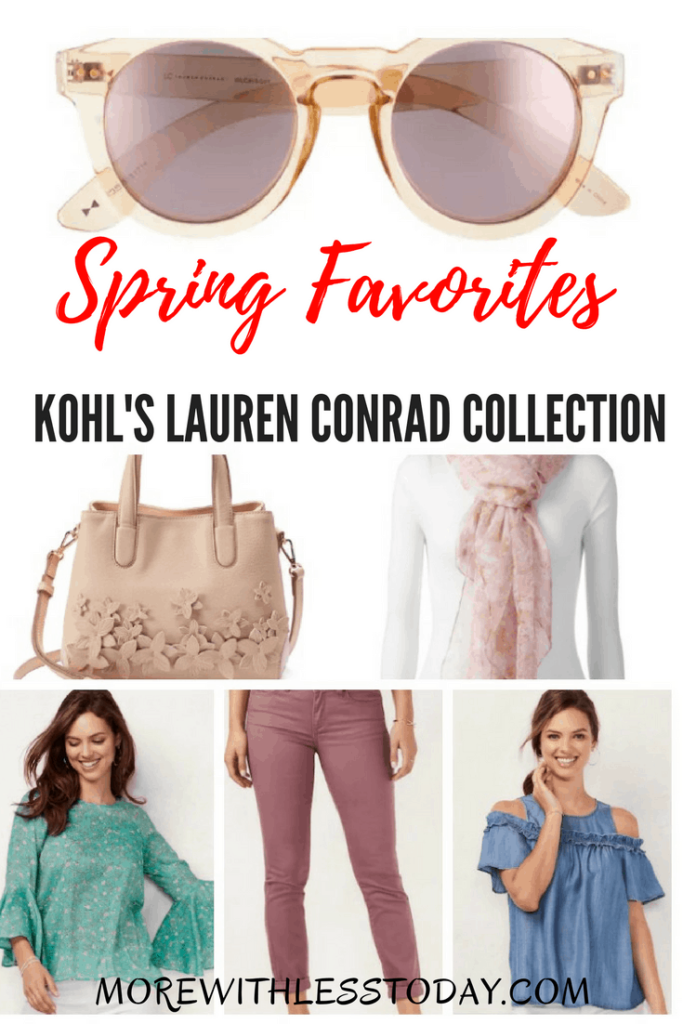 Kohl's has a new Lauren Conrad spring collection of clothing and accessories that is both fun and versatile. Here are our Favorites from the Kohl's Lauren Conrad Collection for Spring.