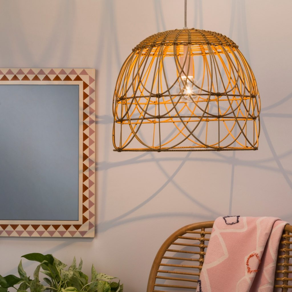 Natural Rattan Ceiling Light - Opalhouse™ at Target