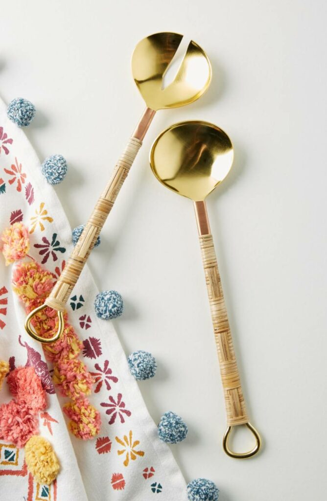 Mikata Salad Serving Set Anthropologie Home at Nordstrom