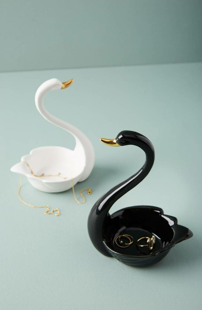 Swan Trinket Dish Anthropologie Home at Nordstrom