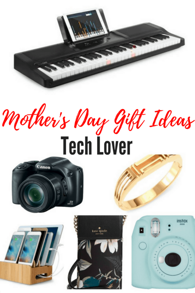 Looking for tech gifts for mom? Is your mom a cool mom who loves fitness trackers, music or photography? Check out these popular tech gifts for mom she is sure to love.
