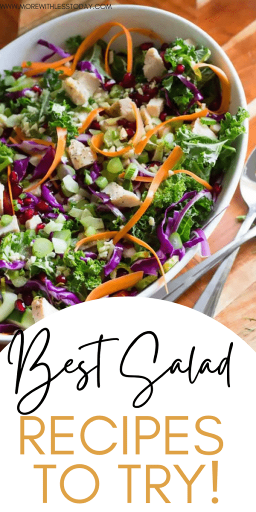 colorful salad Best Salad recipes to try