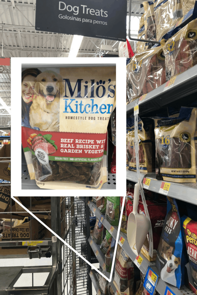 Try Milo's Kitchen Dog Treats from Walmart
