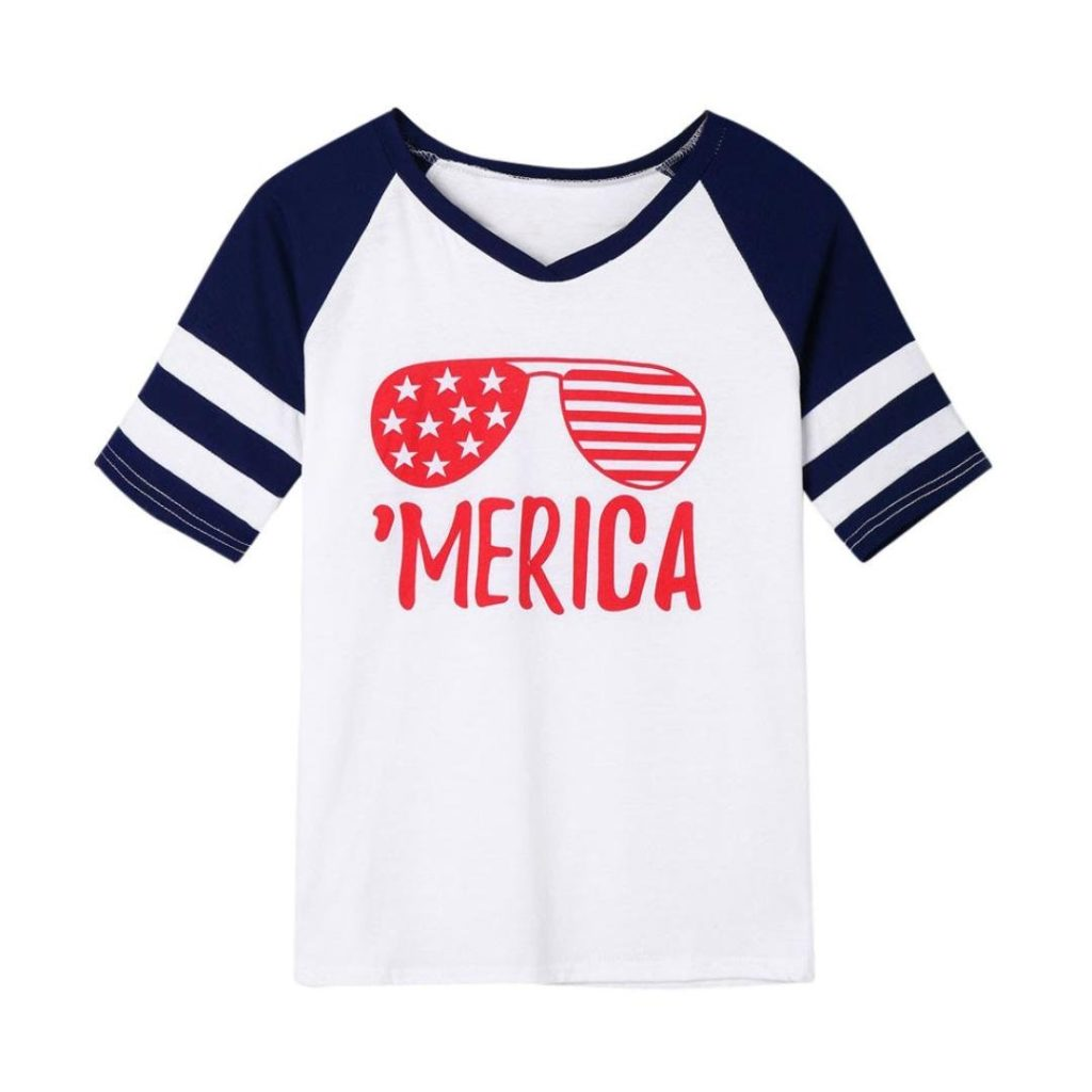 example of a patriotic t-shirt from Amazon