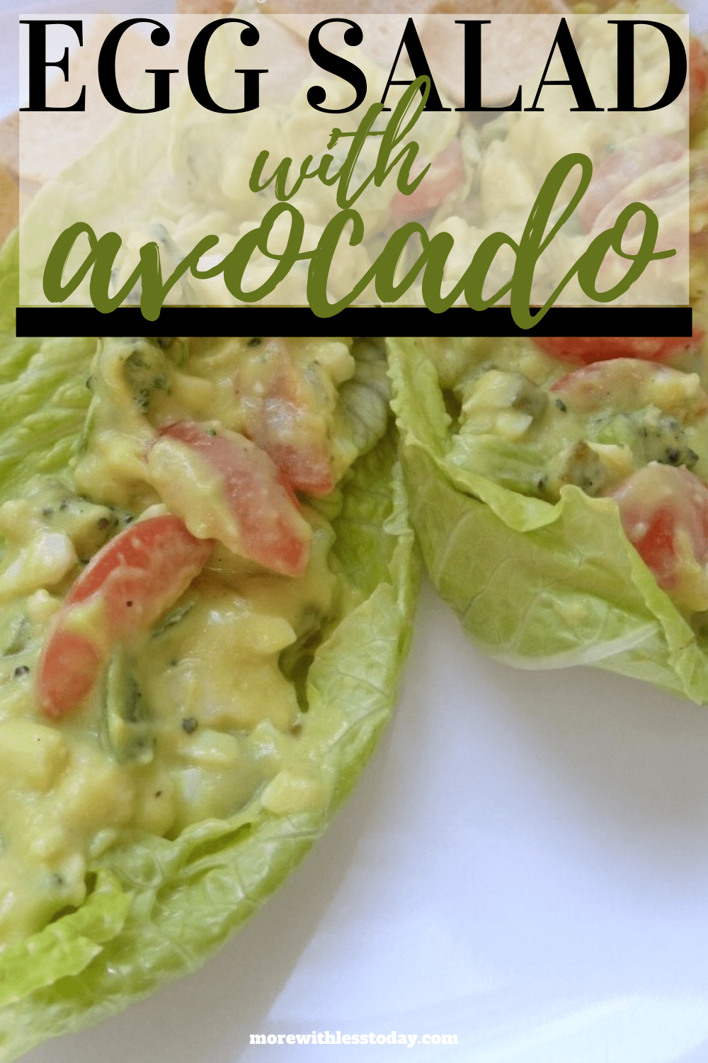 Egg Salad with Avocado recipe