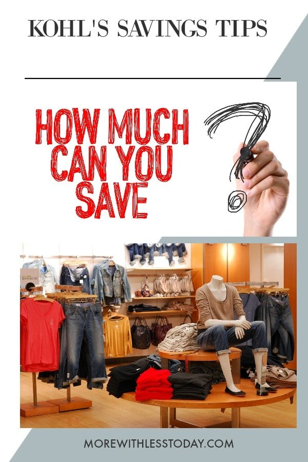 How do you save money when you shop at Kohl's? This list of Kohl's shopping hacks has insider tips and tricks so you can save money shopping online and in the store.