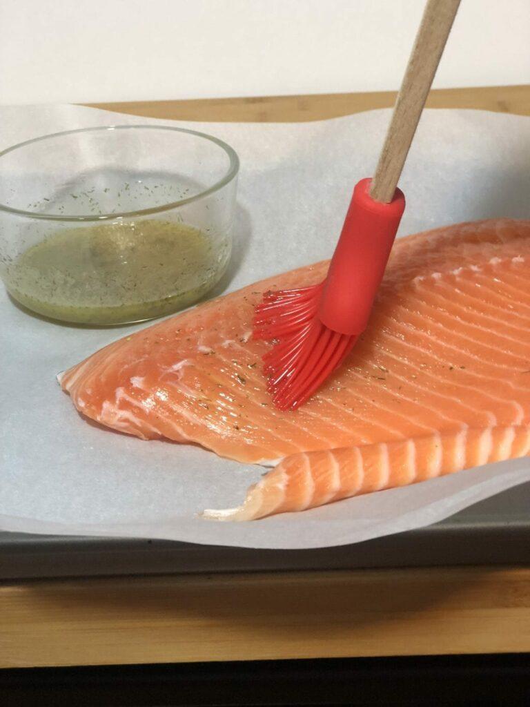 marinade for salmon sheet pan dinner