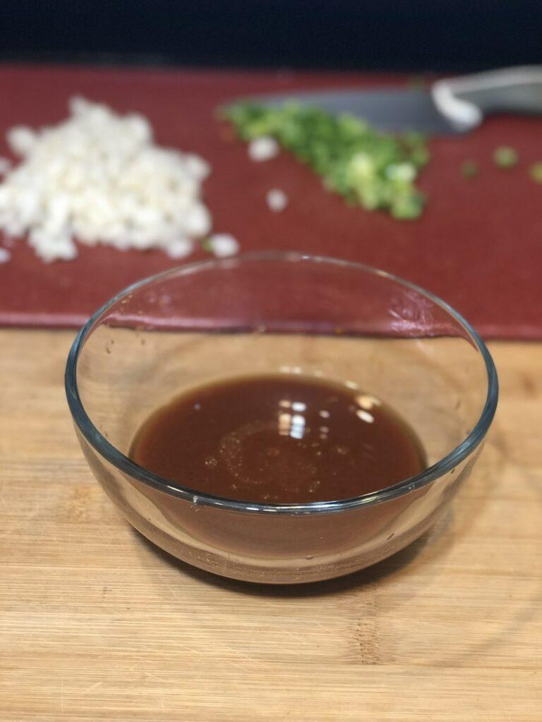 homemade sauce for lettuce wraps