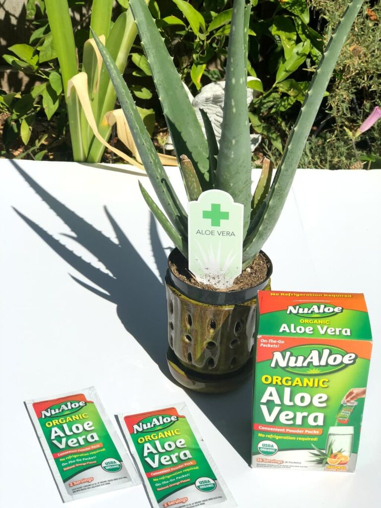 I found an Aloe Vera drink that doesn't need refrigerated and tastes amazing with an orange flavor. Print NuAloe coupons here and save money at Walmart.