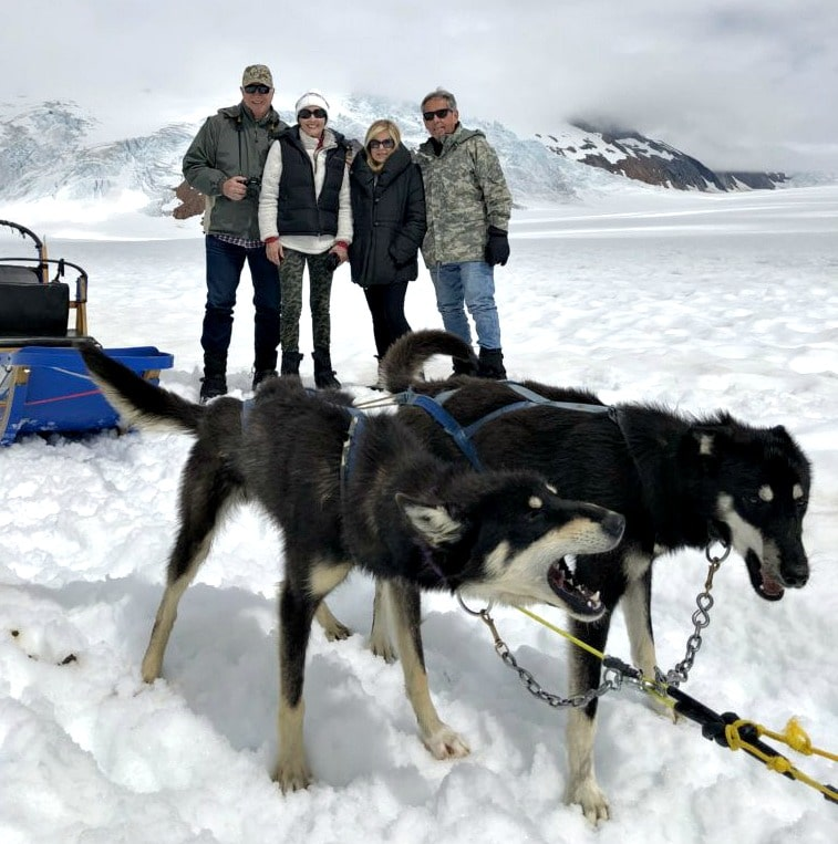 Lori Felix dog sled adventure in Alaska