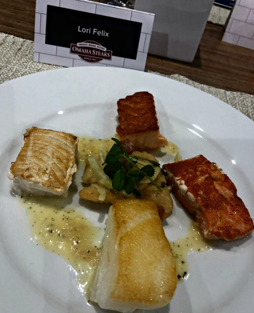 World Port Seafood selections from Omaha Steaks