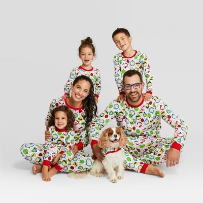 Peanuts Holiday Family Pajamas Collection from Target