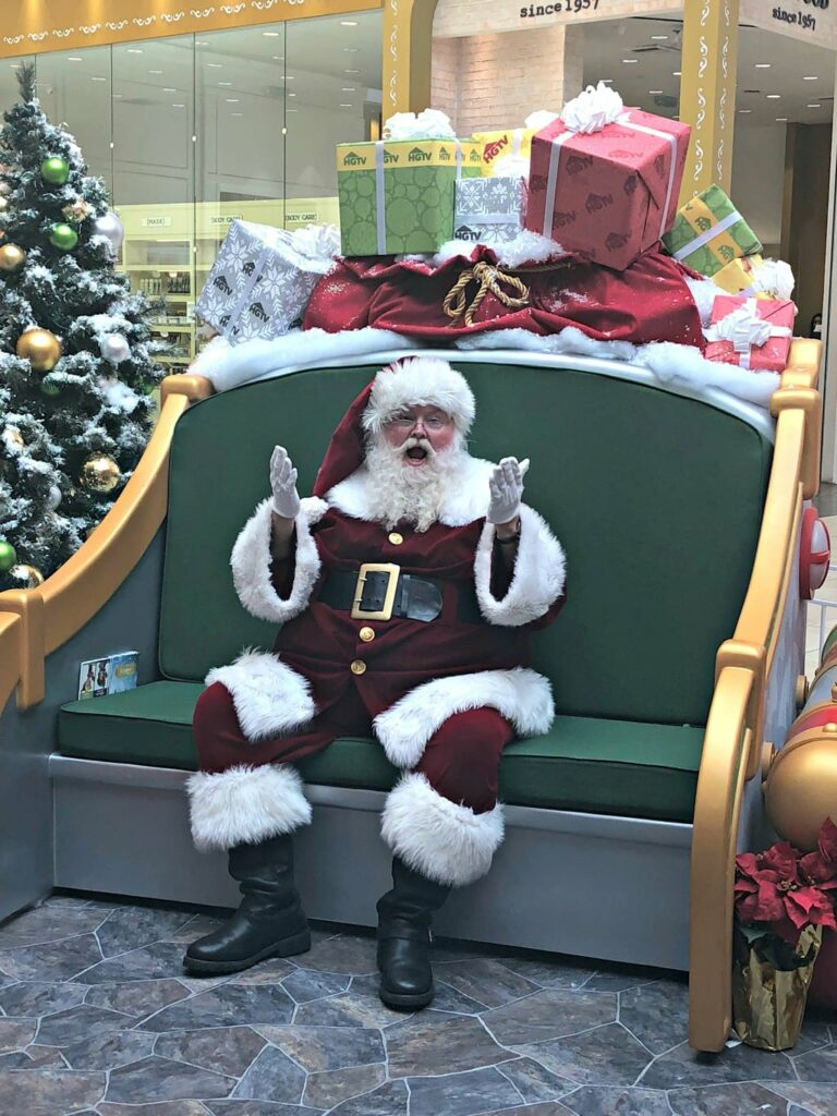 Santa at Santa HQ Los Cerritos Mall