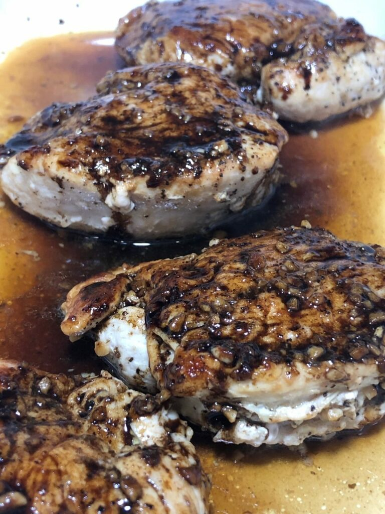 Balsamic reduction Honey Balsamic Chicken Breast recipe