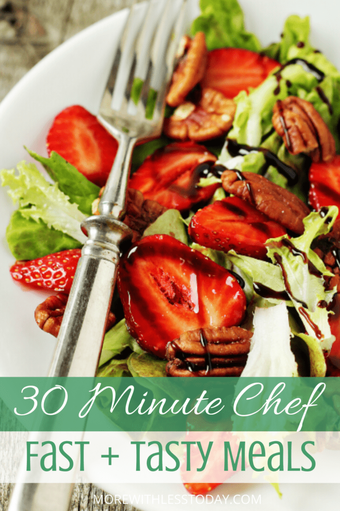 strawberry salad 30 minute meal