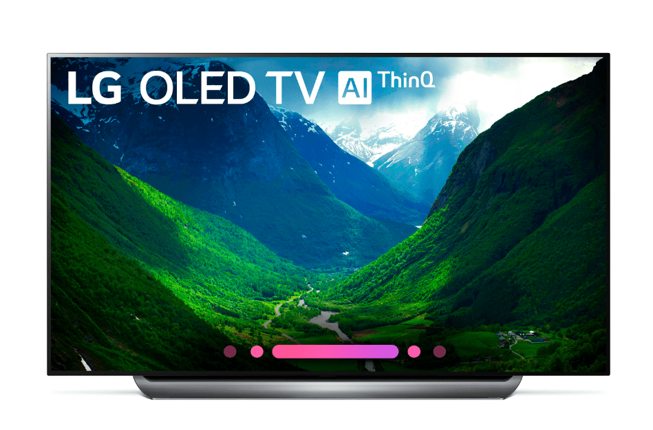 The 77'' Class LG OLED TV from Best Buy
