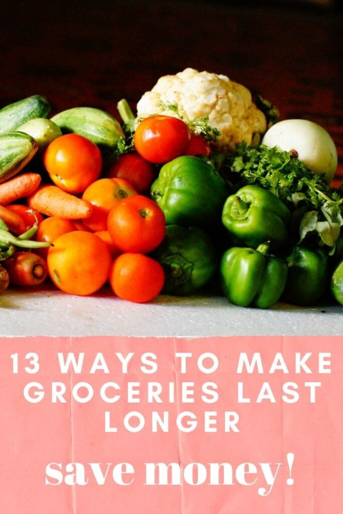 Easy ways to stretch your dollars and make your groceries last longer. We found 13 kitchen hacks to avoid wasting food and money.