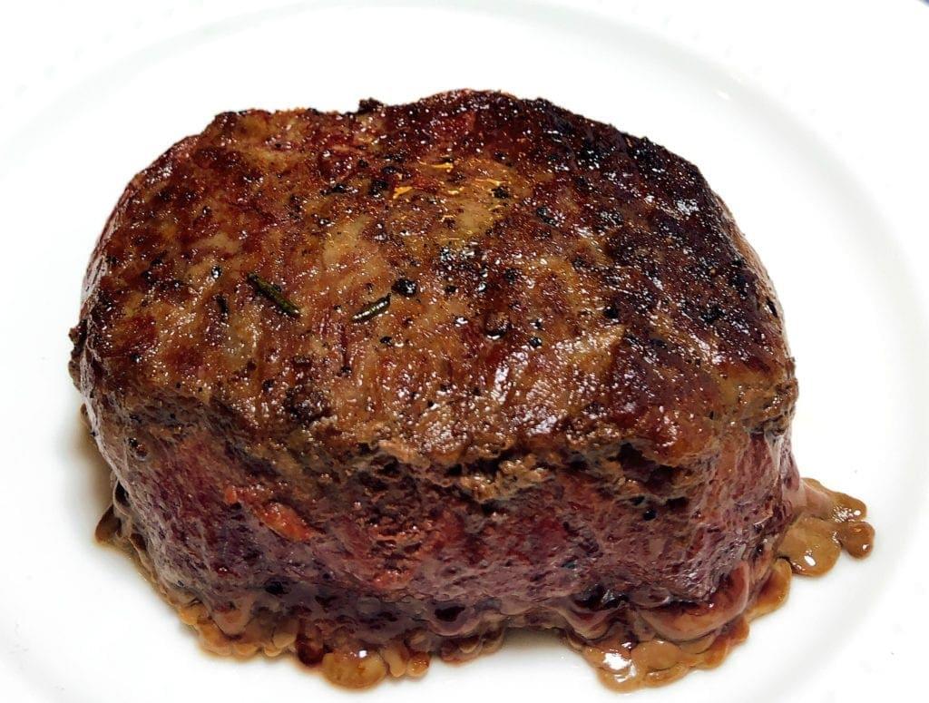 Prepared Omaha Cut Ribeye Steak