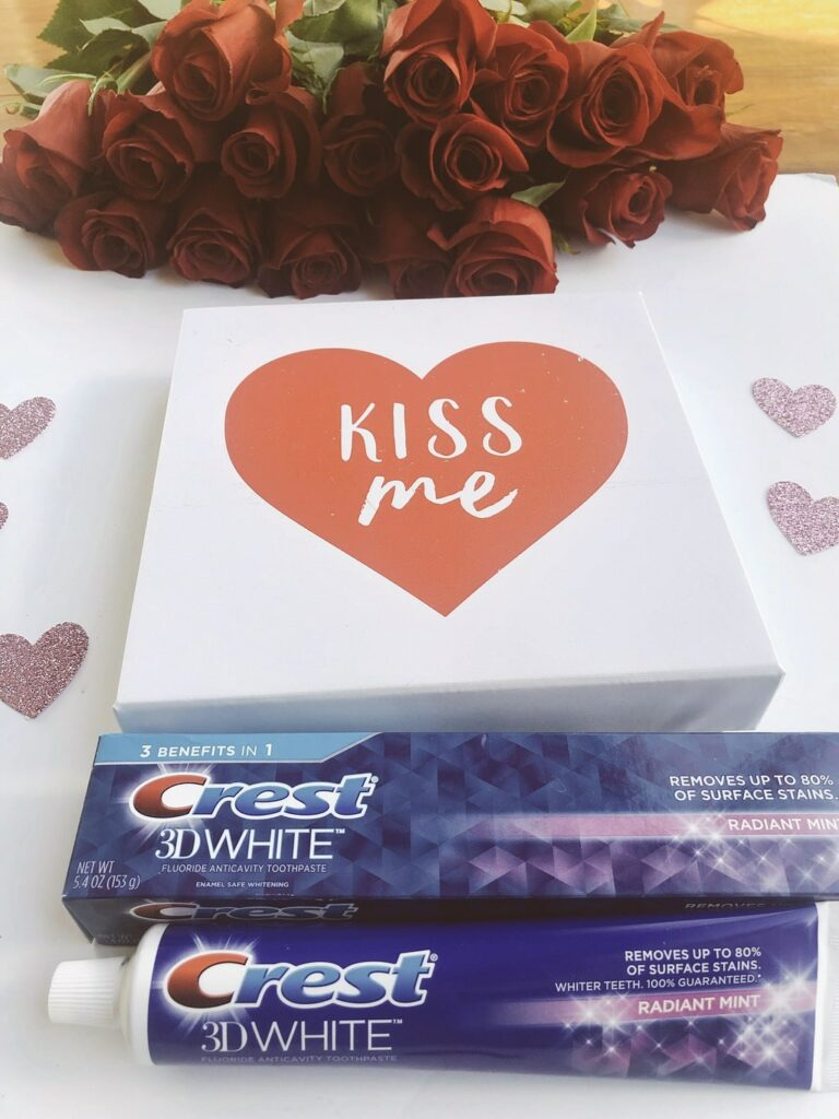 Crest toothpaste and Valentine's Day