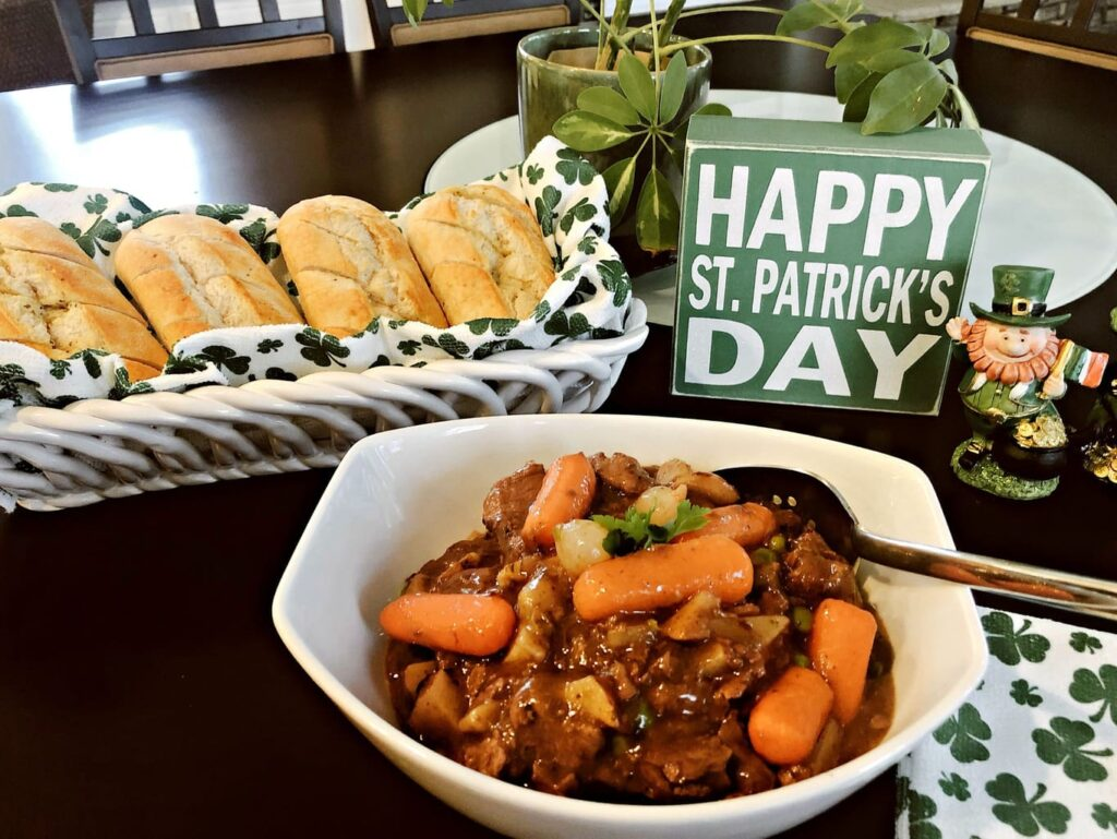 photo of Beef Stew with Irish Style Sauce and Vegetables
