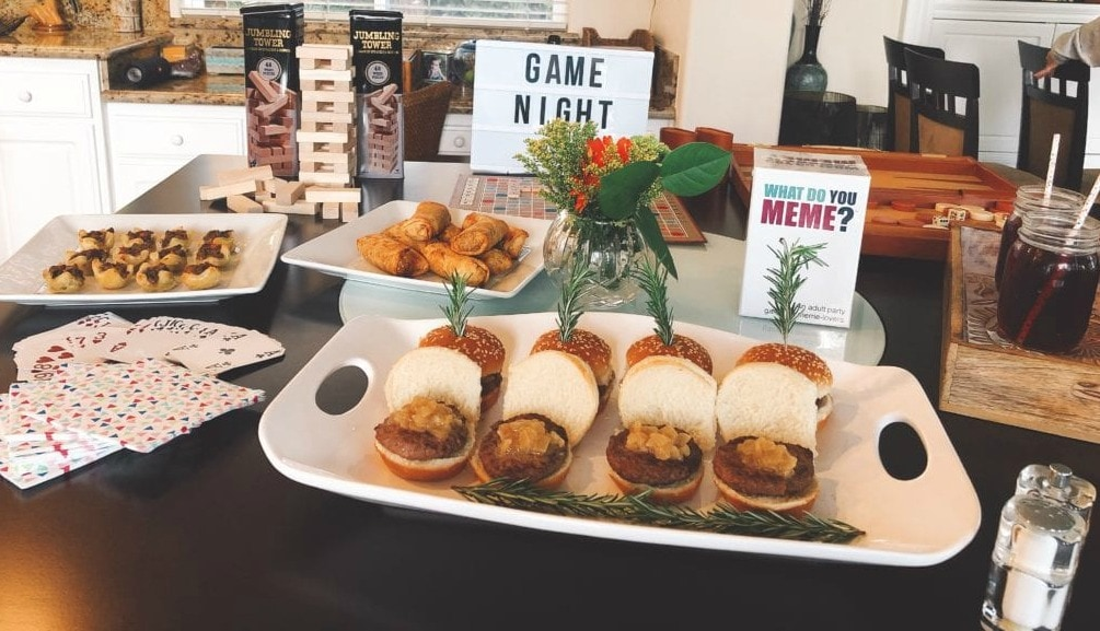 Game night appetizers with Omaha Steaks