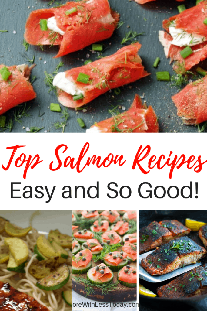 A recipe roundup of easy salmon recipes
