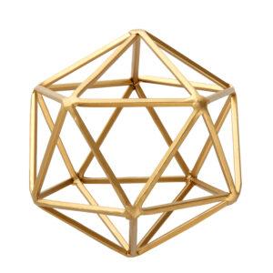 Geometric Tabletop Sculpture, Medium