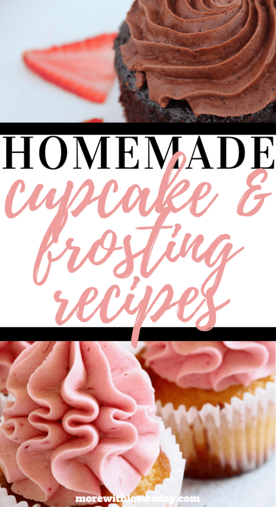 Homemade Cupcake and Frosting Recipes
